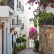 Side Street in Mojacar Village - Stock Photo