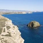 San Juan De Los Terreros coastline Spain — Stock Photo #2899328