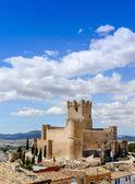 Villena Castle — Stock Photo