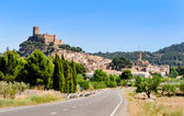 Biar Town and Castle — Stock Photo