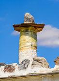 Pot de cheminée typique dans les montagnes des alpujarras — Photo