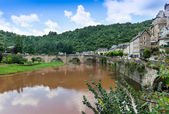 Estaing Medieval Village — Stock Photo