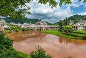 Estaing Medieval Village — Stock Photo