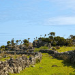 Stock Photo: Acores, coast trail on flores island