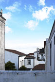 Acores - ponta delgada, view on the old town — Stock Photo