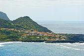 Flores island, faja grande — Stockfoto