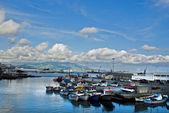 Sao miguel port of ponta delgada — Stock Photo