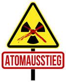 Atomausstieg — Stock Vector