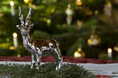 Christmassy Table Decoration — Stock Photo