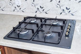 Kitchen gas stove — Stock Photo