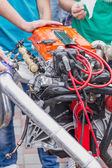 New car engine — Stock Photo