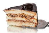 Pasta ile kuru erik — Stok fotoğraf
