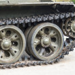 Stock Photo: Detail tracked vehicle