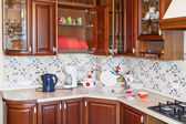Home kitchen — Stock Photo
