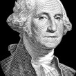 ������, ������: George Washington portrait on black
