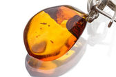 Large amber — Stock Photo