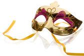 Złota maska — Zdjęcie stockowe