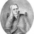 John Dalton portrait — Stock Photo