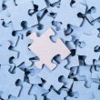 Blank Puzzle background — Stock Photo #22629383