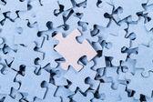 Blank Puzzle background — Stock Photo