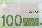 Textuur 100 euro bankbiljetten — Stockfoto