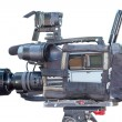 Professional digital video camera — Stock Photo