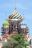 Restoration of the dome of the cathedral — Stock Photo