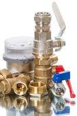 Plumbing details — Stock Photo