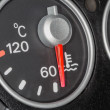 Temperature Indicator cars — Stock Photo