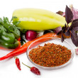 Ingredients to the dry mixture of spices — Stock Photo