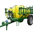 Stock Photo: Trailer pesticide sprayer