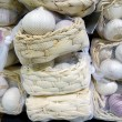 Pack of garlic — Foto de Stock