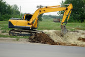 Excavator Heavy Equipment — Stock Photo