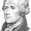 Gravure of Alexander Hamilton — Stock Photo