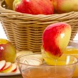 Honey and Apples — Foto de Stock