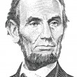 Постер, плакат: Abraham Lincoln portrait vector