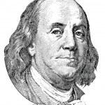 Benjamin Franklin ( vector) — Stock Vector