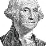 George Washington (vector) — Stock Vector