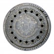 Foto de Stock  : Manhole Cover