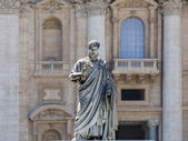 Sculpture of St. Peter — Stock Photo