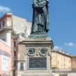 Stock Photo: Giordano Brvno statue in Campo de' Fiori, Rome.