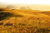 Rural landscape at sunset — Stock Photo