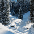 Winter mountain landscape — Stock Photo #13394926