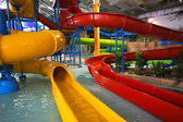 Indoor aquapark — 图库照片