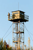 Border Guard watchtower — Stock Photo