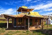 Buddhist temple in Mongolia. — Stock Photo