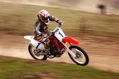 Motocross — Foto Stock