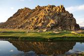 Berge im westen der mongolei — Stockfoto