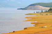 Lake in Mongolia — Stock Photo