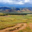 Valley of river in north Mongolia — Stock Photo